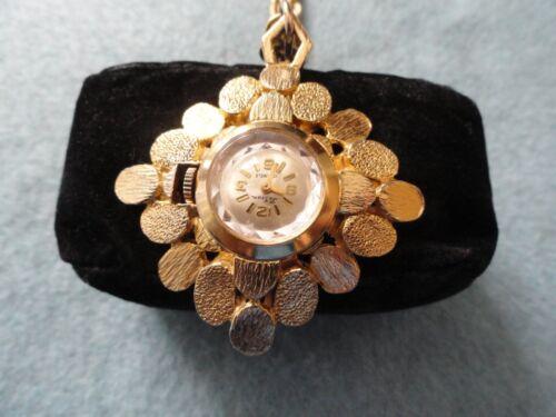 Vintage LeGran 17 Jewels Wind Up Mechanical Necklace Pendant Watch