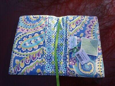 Vera Bradley Paperback Cover Capri Blue NWT