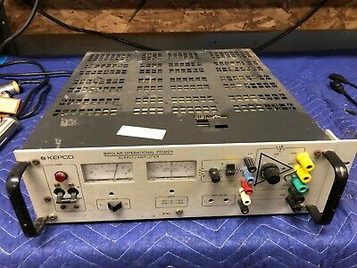 Kepco Bop 15-20m Dc Bipolar Operation Power Supply Amplifier Linear Stabilizer