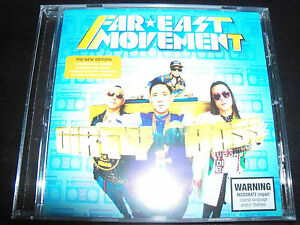 Far-East-Movement-Dirty-Bass-New-Edition-5-Additional-Tracks-CD-New