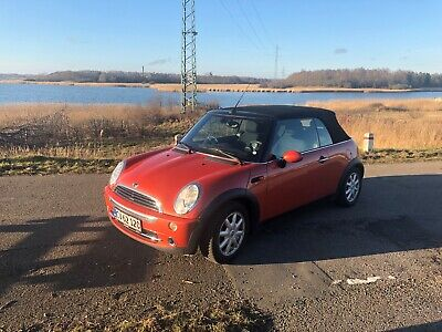 Mini One 1,6 Cabriolet 2d