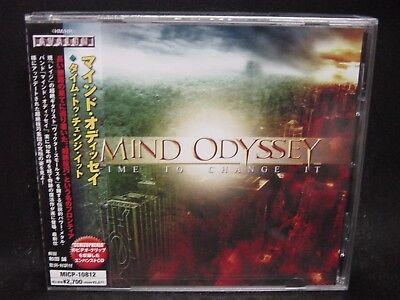 MIND ODYSSEY Time To Change It + Video Clip JAPAN CD Rage Almanac Pandea Merlin