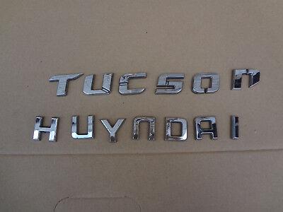 Original Emblem Schriftzug Hyundai i10 i20 i30 i40 ix20 ix35 Santa Fe Tucson
