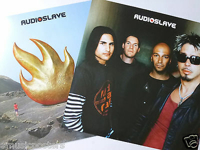 AUDIOSLAVE U.S. PROMO POSTER -Soundgarden,Rage Against The Machine,Chris Cornell
