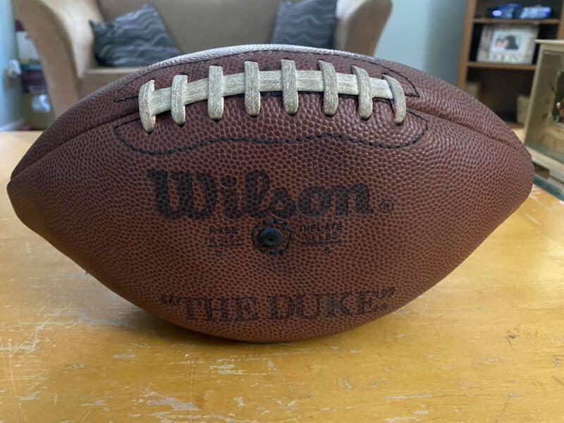 "Vintage Wilson ""The Duke"" football"