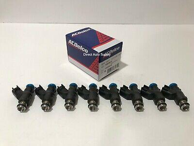 8PCS NEW OEM FUEL INJECTORS for ACDelco 12613412 GM 217-3412 FJ10736