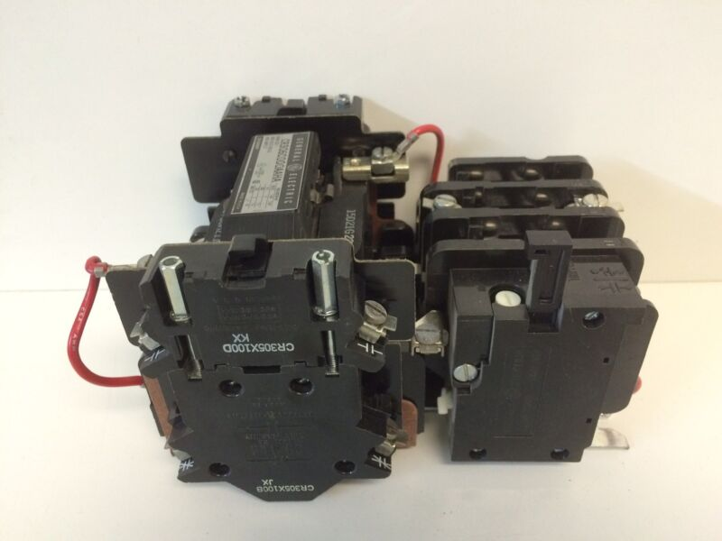 New Take Out General Electric 8000 Ser. Mcc Contactor Starter Cr306c000aaha