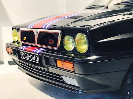 1989 Lancia Delta Integrale. Diamond Black. Collectors Car