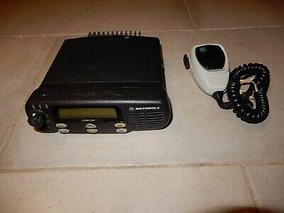 Motorola Cdm1250 Vhf 45 Watts 64 Ch 136-174 Mhz 2 Way Radio Aam25kkd9aa2an Mic