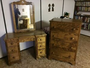 Drawer chest and vanity