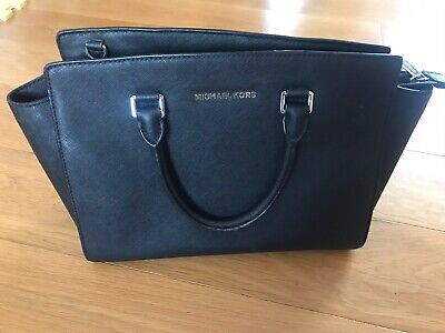 Michael Kors Satchel Bag - Black - 100% Genuine