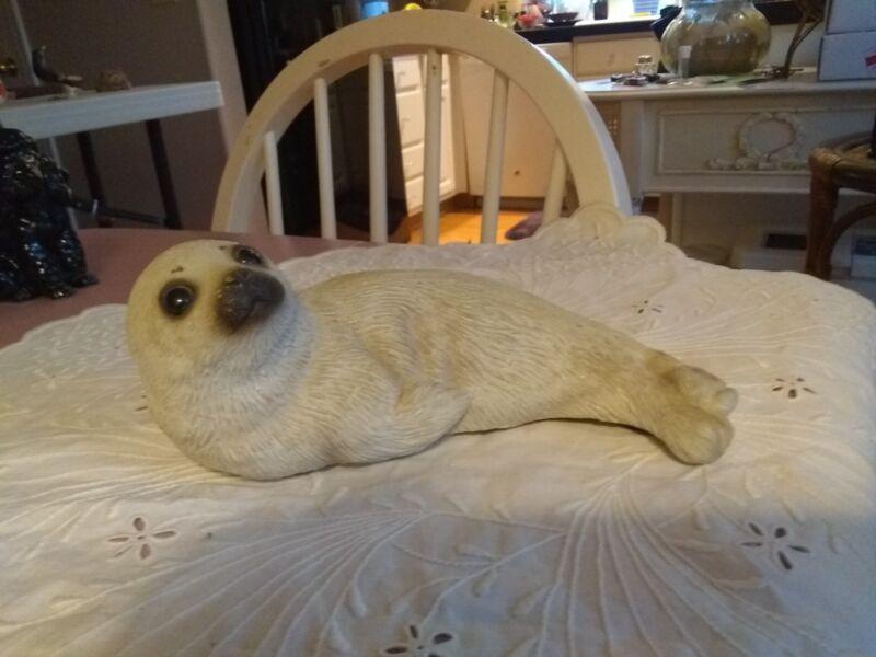 """VINTAGE SANDICAST SANDRA BRUE SEAL, 7"""""""