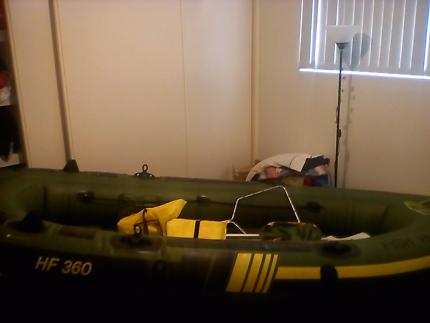 Sevylor  360 fishing boat.