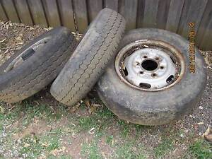"Old 6 stud 14"" Car rims needs repairs Mount Druitt Blacktown Area Preview"