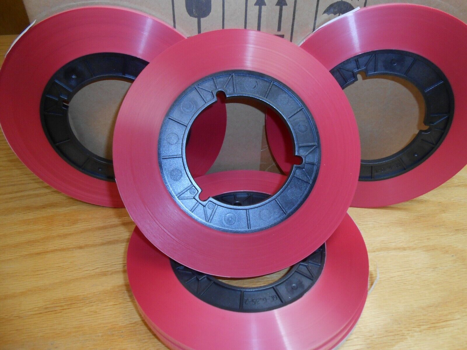 1/4 leader tape pink - about 400 feet