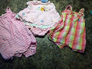 Girls 3-6 mos summer