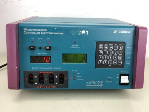 Jordan JP-3000SX Microprocessor Controlled Electrophoresis Power Supply