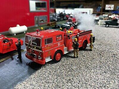 Code 3 1:64 1973 Ward LaFrance P80 LA County Engine 51 Fire Truck EMERGENCY!