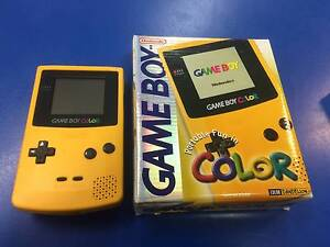 Nintendo GAMEBOY COLOR  BOXED Box 8/10 Console 8/10 Aus Release Adamstown Newcastle Area Preview