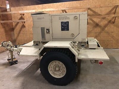 Military Generator Only 2.3 Hours 10kw Mep803a