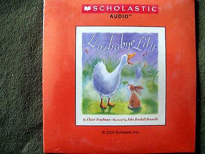 Audio Books For Halloween (2 Scholastic Audios ~ Hushabye Lily & Alpha Oops! H is for Halloween (2)