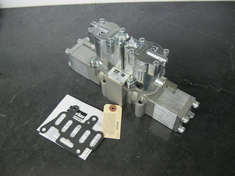 PARKER L5255321149 Directional Pneumatic Control Valve Double Solenoid 24vdc