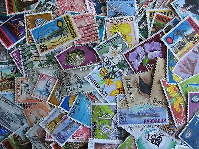 Barbados scrap pile (duplicates, condition) of 80, HV lurk, worth a look!