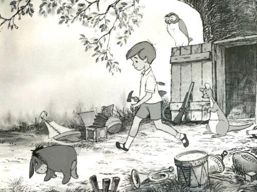 1965 WINNIE THE POOH AND THE HONEY TREE Walt Disney film PRESS PHOTOGRAPH # 23C