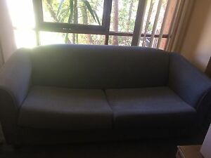 Two sofa in bed and single seater Thurgoona Albury Area Preview