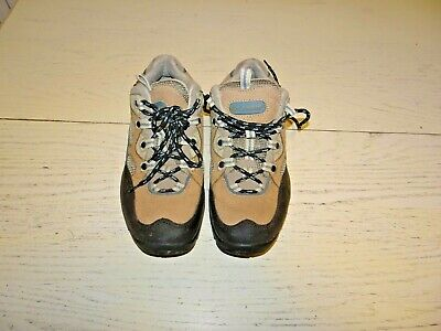 Columbia Woman 8 Trail Grinder Leather Rubber Hiker Shoes Low Profile Trail Grinder