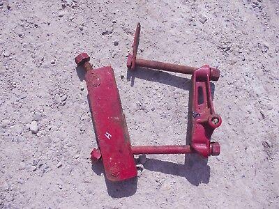 Farmall H Sh 300 350 Tractor Ih Drawbar Draw Bar Axle Cultivator Rear Bracket