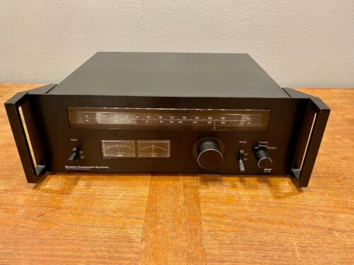 MCS 3701 Modular Component Systems Vintage Stereo AM / FM Tuner Good Condition