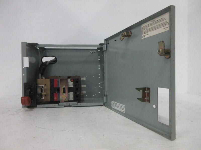 """General Electric GE 8000 70 Amp Breaker Type 12"""" MCC Feeder Bucket 70A TEL136070"""