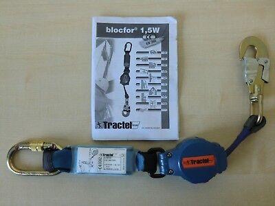 Tractel blocfor 1,5W M47 Höhensicherungsgerät 1,5 m Höhensicherung 102729