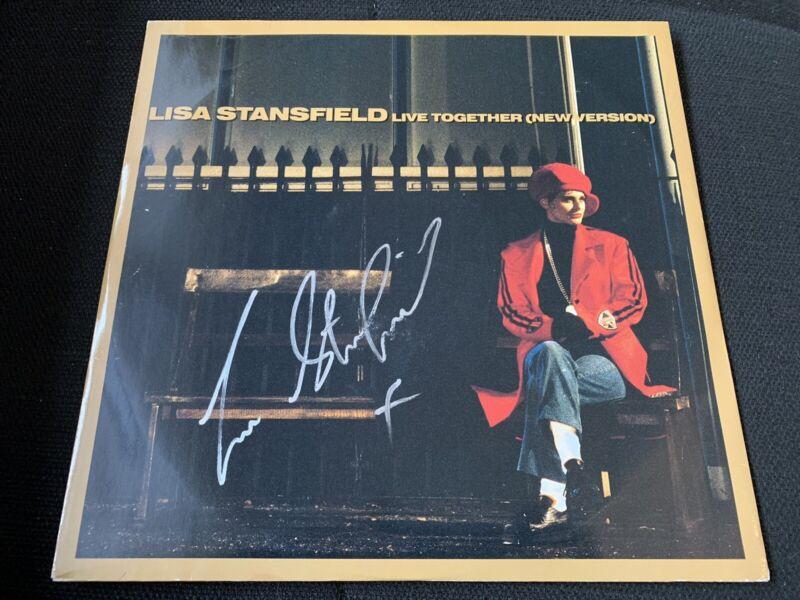 LISA STANSFIELD signiert signed Autogramm LIVE TOGETHER Vinyl Schallplatte IP