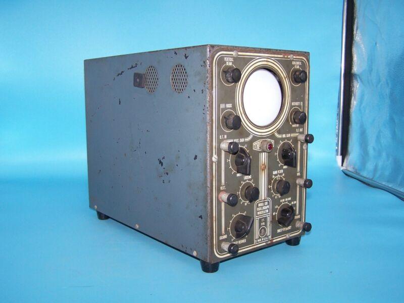 Vintage Triumph Model 830 Oscillograph Wobbulator Test Equip. WWII Military Navy
