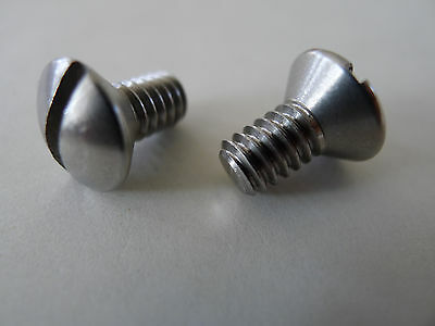 Used, 2pcs Back Plate Screws For Klon Centaur Overdriver Guitar Effects Pedal for sale  Shipping to United States