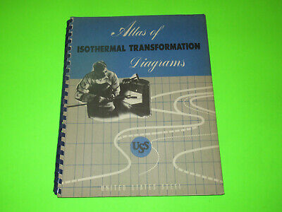 United States Steel Atlas Of Isothermal Transformation Diagrams Book Booklet
