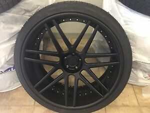 "24"" Corse Werks wheels for German SUV"