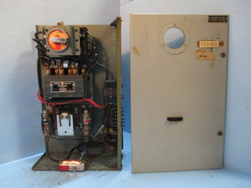 "General Electric GE 7700 Size 3 Starter 100 Amp Breaker Type 24"" MCC Bucket MCCB"