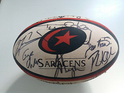 Signed Saracens shirt & ball
