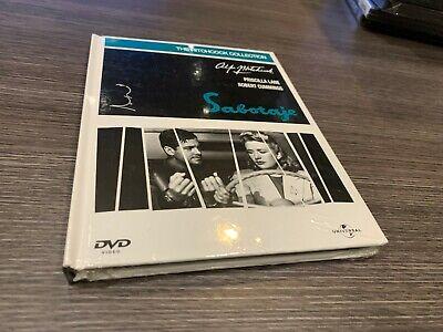 SABOTAJE ALFRED HITCHCOCK DVD + LIBRO PRECINTADA NUEVA