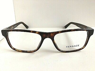 New Versace Mod. 1132 801 55mm Tortoise Men's Eyeglasses Frame Italy #8