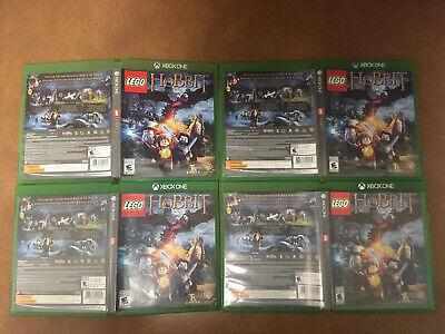 xbxo one Xbox One Lego The Hobbit X Box Xbx 1 Microsoft Rare/Collectable