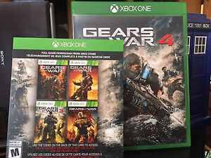 Gears Of War 4 and Gears Of War Colletion