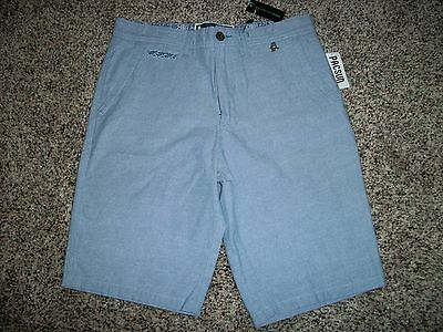 Modern Amusement Mens Walk Shorts Casual Blue 34 36 38