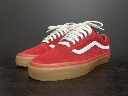 Vans Syndicate Old Skool Golf Wang Red Gum Sz 9