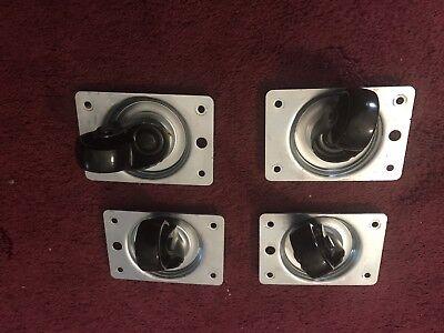 Lot Of 4 Swivel Wheels Casters - Caster