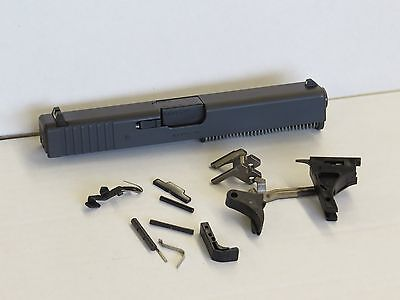 Glock 17 Gen 3 9mm Complete Slide Upper, Lower Parts Kit NEW. Fits Poly 80