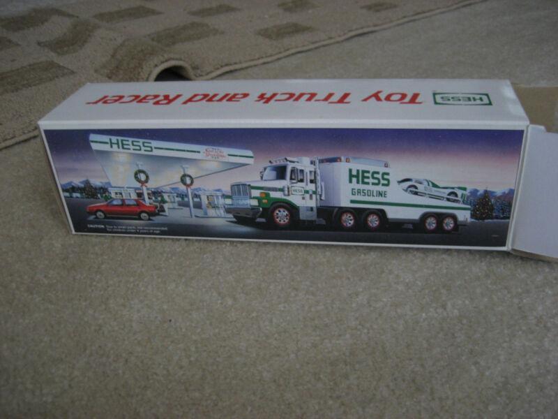 Vintage Hess Toy Truck & Racer